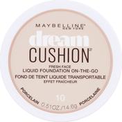 Maybelline Cushion Fresh Face Liquid Foundation Porcelain