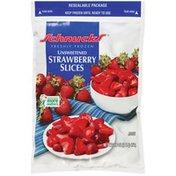 Schnucks Unsweetened Freshly Frozen Strawberry Slices