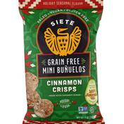 Siete Mini Bunuelos, Grain Free, Cinnamon Crisps
