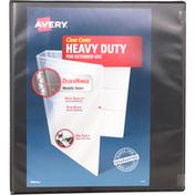Avery Binder, Clear Cover, Heavy Duty, 1 Inch