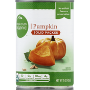 Simple Truth Organic Pumpkin, Solid Packed