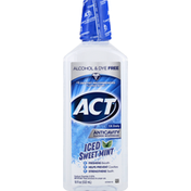 ACT Mouthwash, Anticavity Fluoride, Iced Sweet Mint
