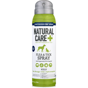 Natural Care + Flea & Tick Spray, with Peppermint Oil & Eugenol