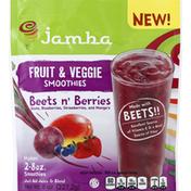 Jamba Fruit & Veggie Smoothies, Beets n' Berries