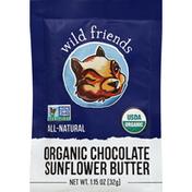Wild Friends Sunflower Butter, Chocolate, Organic