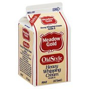 Meadow Gold Whipping Cream, Heavy, Old Style
