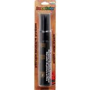 Marvy Uchida Paint Marker, Acrylic, Black, Opaque