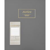 Mead Notebook, Ruled, 80 Sheets