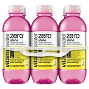 Glaceau Vitaminwater Strawberry Lemonade Nutrient Enhanced Glaceau Vitaminwater Zero Shine Strawberry Lemonade Nutrient Enhanced Water