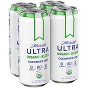Michelob Cucumber Lime Organic Seltzer