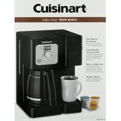 Cuisinart Coffee Maker, Brew Basics
