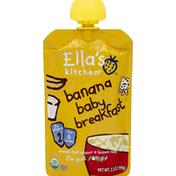 Ella's Kitchen Baby Breakfast, Banana, 2 (from 6 Months)