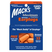 Mack's Maximum Protection Soft Foam Ear Plugs