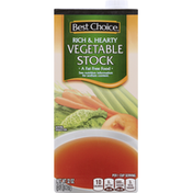 Best Choice Vegetable Stock, Rich & Hearty