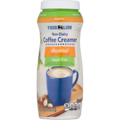 Food Lion Coffee Creamer, Nondairy, Sugar Free, Hazelnut
