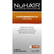NuHair Hair Regrowth, for Men, Tablets