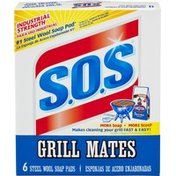 S.O.S. Grill Mates Steel Wool Pads