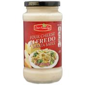 Our Family Four Cheese Alfredo Pasta Sauce