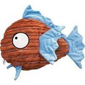 Kong Co. Multi-Colored Cuteseas Fish Dog Toy
