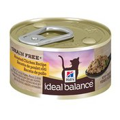 Hill's Science Diet Ideal Balance Grain Free Roasted Chicken Recipe Canned Cat Food