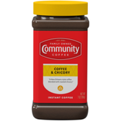 Community Coffee Coffee and Chicory Instant Coffee