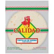 Calidad Flour Tortillas