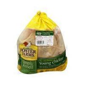 Foster Farms Simply Raised Antibiotic-Free Whole Chicken