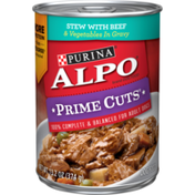 Purina Gravy Wet Dog Food, Prime Cuts Stew With Beef & Vegetables