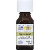 Aura Cacia Pure Essential Oils Spearmint