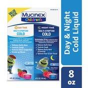 Mucinex® Cold & Cough, Children's Multi-Symptom Day/Night Liquid, Very Berry (2x4oz)