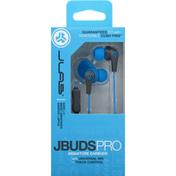 JLab JBuds Pro Signature Earbuds - Cobalt