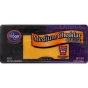 Kroger Cheese, Medium Cheddar