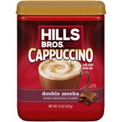 Hills Bros. Double Mocha Cappuccino Café Style Drink Mix