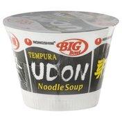 Nongshim Noodle Soup, Tempura Big Bowl, Udon