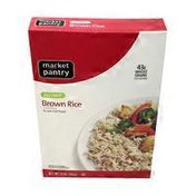 Market Pantry Instant Brown Rice