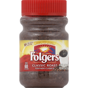 Folgers Coffee Crystals, Instant, Classic Roast