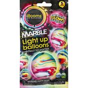 Illooms Balloons, Light Up, Marble