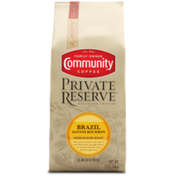 Community Coffee Brazil Santos Bourbon Ground Coffee