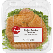 Ukrops Chicken Salad on Croissant
