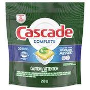 Cascade Actionpacs, Dishwasher Detergent, Lemon Scent