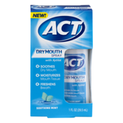 ACT Dry Mouth Spray with Xylitol Soothing Mint