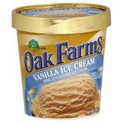 Oak Farms Ice Cream, Vanilla Flavored