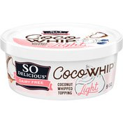 So Delicious Dairy Free CocoWhip Light Coconut Whipped Topping