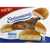 Entenmann's Golden Cakes, Creme Filled, Minis