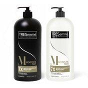 Tresemmé Shampoo And Conditioner Pump Moisture Rich