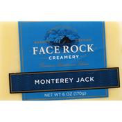 Face Rock Creamery Cheese, Premium Handmade, Monterey Jack