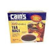 Cain's Orange Pekoe Cut Individual Black Tea Bags