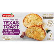 Brookshire's Texas Toast, Authentic Hearth Baked, Five Cheese