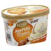 Kemps Frozen Yogurt, Sea Salt Caramel