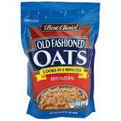Best Choice Old Fashioned Oats Bag